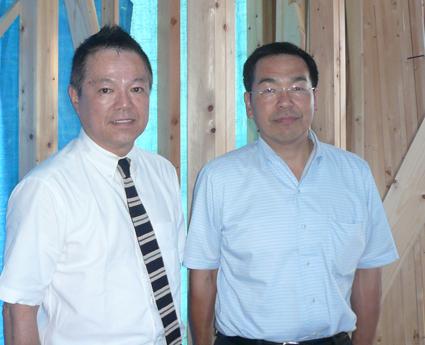 リックの丸山先生と鈴木さん